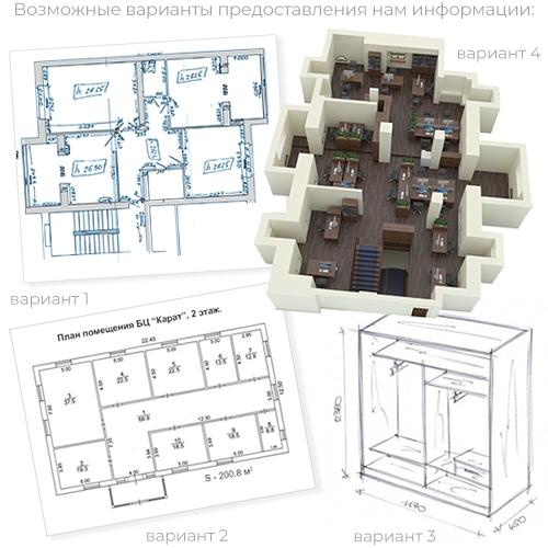 Проектная мебель ALSAV - предпроектный этап.