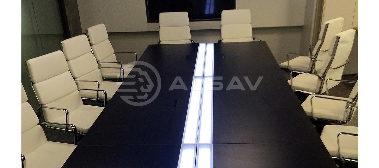 Переговорные столы ALSAV для ГАЗПРОМА