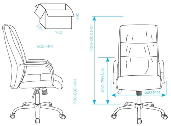 Офисное кресло AL 750